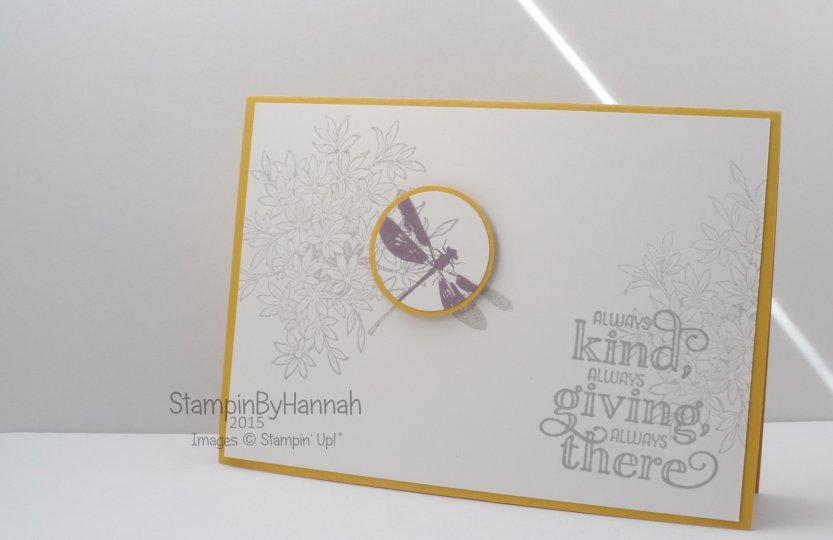Stampin' Up! UK Technique Tuesday Awesomely Artisitic
