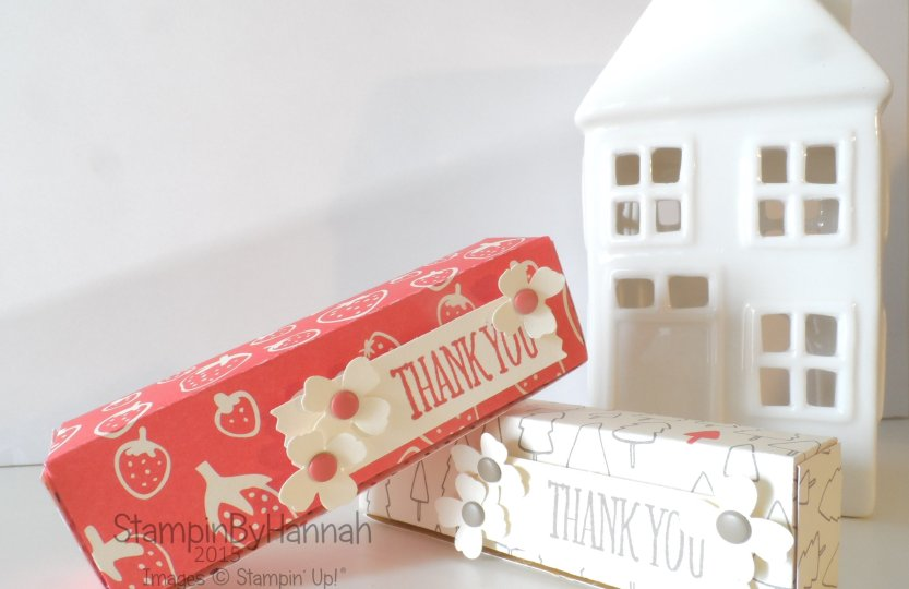 Stampin' Up! UK Sweeties Box Video Tutoria