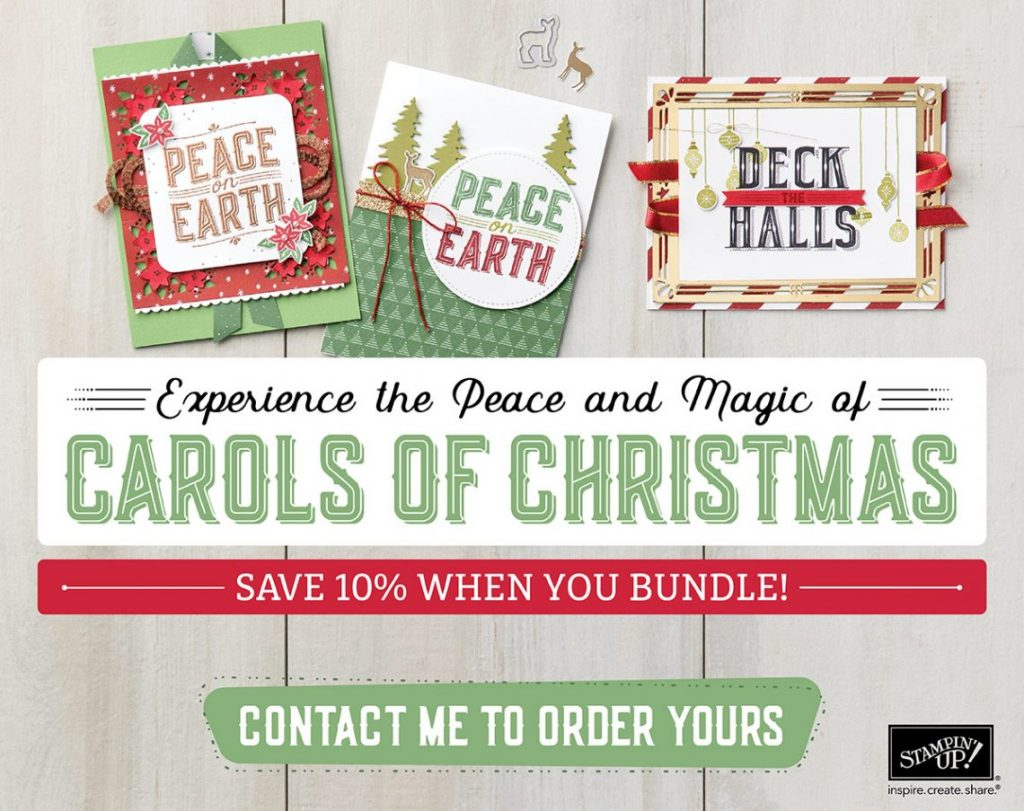 Stampin' Up! UK Carols of Christmas Early Release