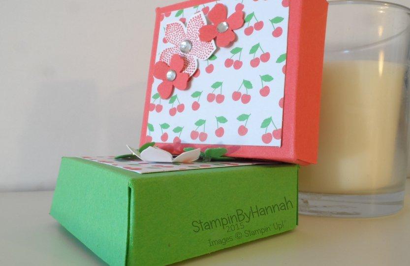 Stampin' Up! UK box tutorials