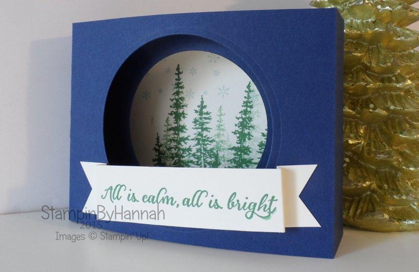 Stampin' Up! UK 12 Weeks of Christmas Wonderland Card
