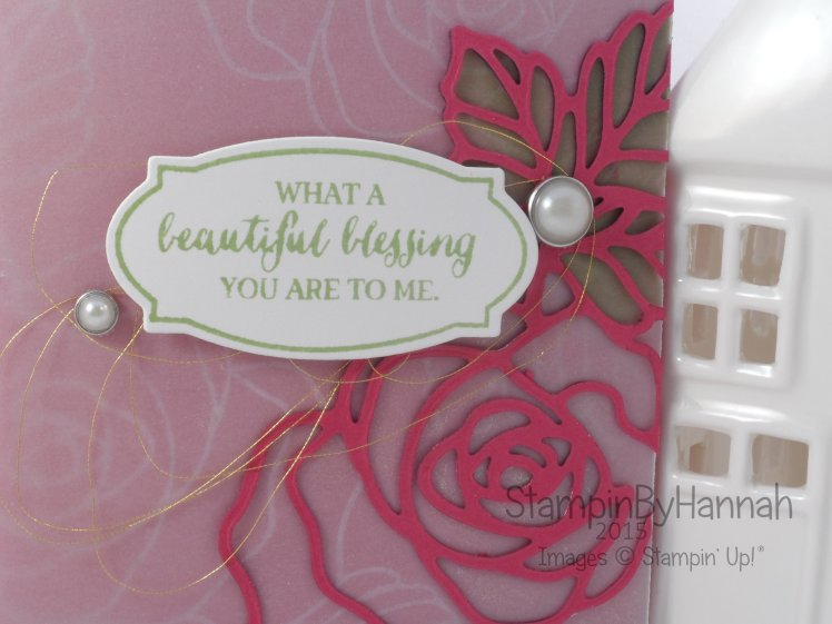 Stampin' Up! UK Rose Wonder Card