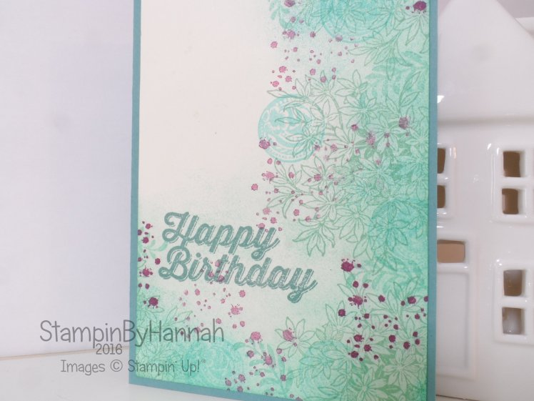 Stampin' Up! UK Awesomely Artistic Birthday