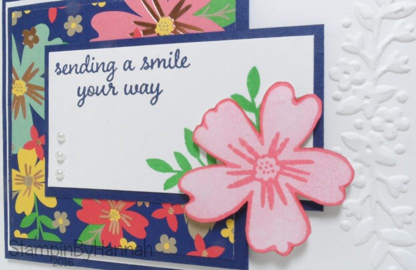 Love and Affection From Stampin' Up! UK Online Card Class