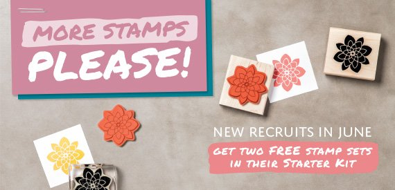 Stampin' Up! joining June 2016