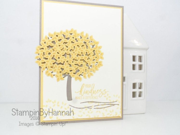 Thoughtful Branches Card using Stampin' Up! UK Supplies