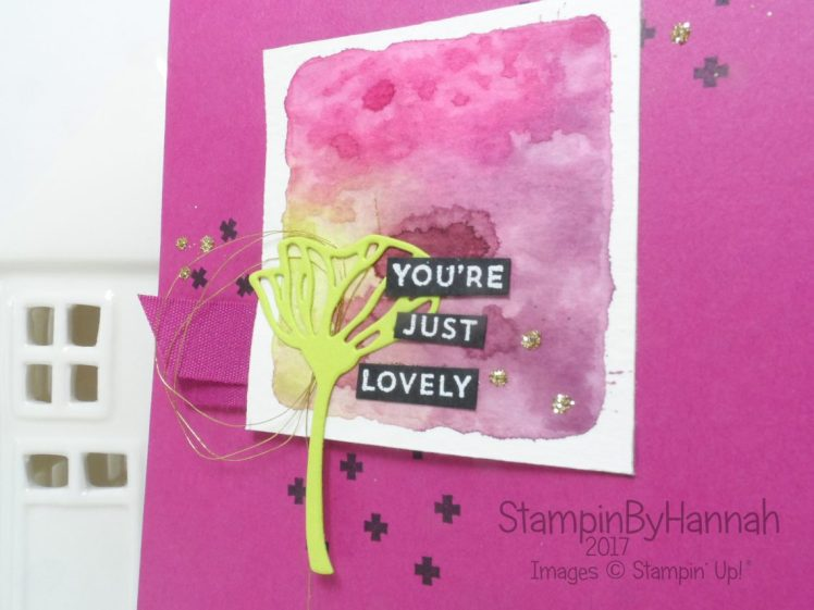 Oh So Eclectic Card using Stampin' Up! products