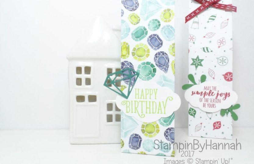 Make It Monday Gift Bag using Designer Series Paper from Stampin' Up!