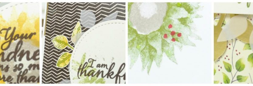 Painted Harvest Online Card Class from StampinByHannah Stampin' Up!