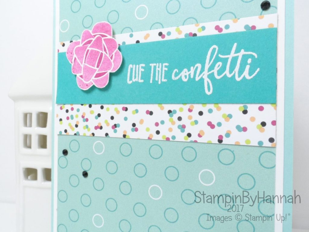 Fun Birthday Card using Picture Perfect Birthday from Stampin' Up!