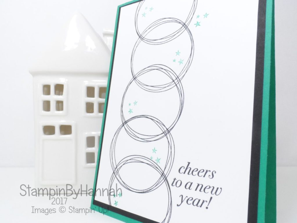 Stamp of the Month Club using Year of Cheer from Stampin' Up!