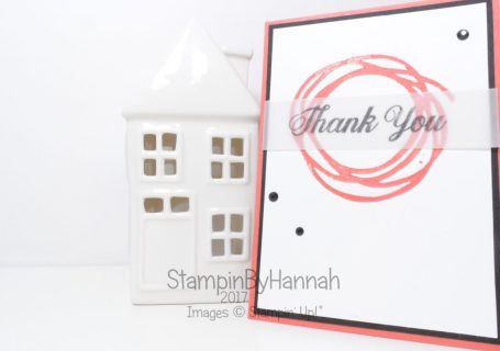 Techniques video Die Cut Letterpress inspired by Jennifer McGuire using Swirly Scribbles from Stampin' Up!