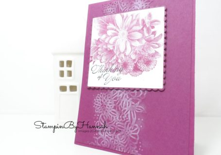 Sale-a-bration spotlight Heartfelt Blooms Card using Stampin' Up! products