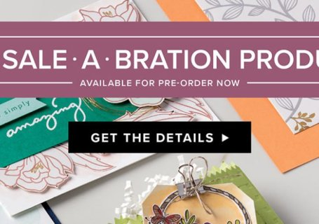 Stampin' Up! UK Sale-a-bration 2nd Release 2018