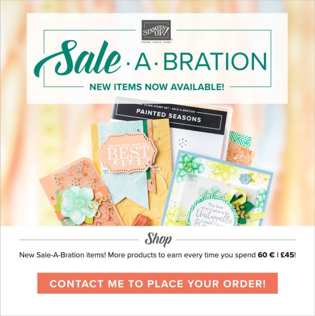 Sale-a-bration 2nd release 2019 Stampin' Up!
