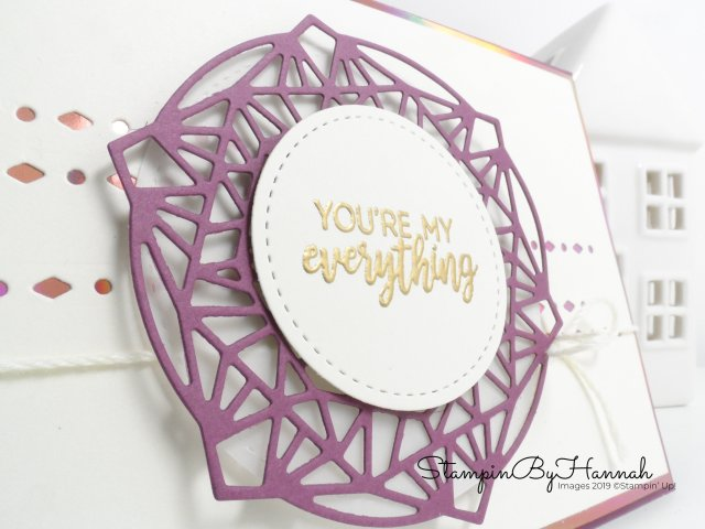 Beautiful Promenade Stamp Set Valentines Card using Stampin' Up! products with StampinByHannah
