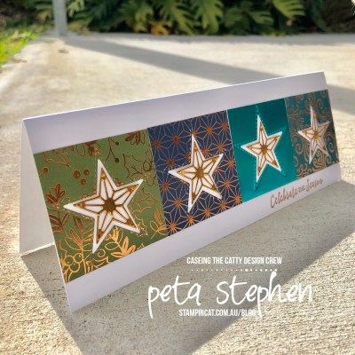 #stampin_cat #CTC 247 #stitchedstarsdies #brightlygleaming #stampinup