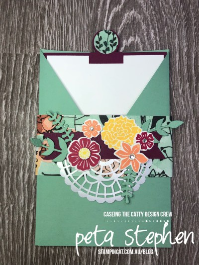 Stampin' Cat CTC 189 Share What You Love Beautiful Bouquet Pocket Card
