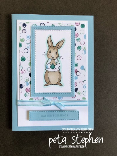 #Stampin_cat #ctc225 #fablefriends #easter #stampinup