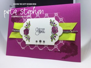 Stampin' Cat CTC161 Lots of Lavender