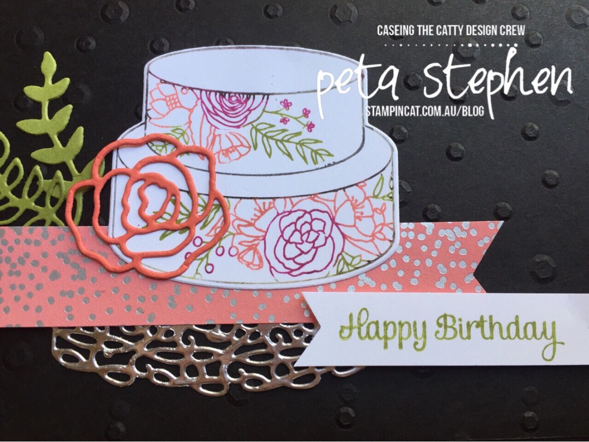 Stampin' Cat CTC162 Cake Soiree