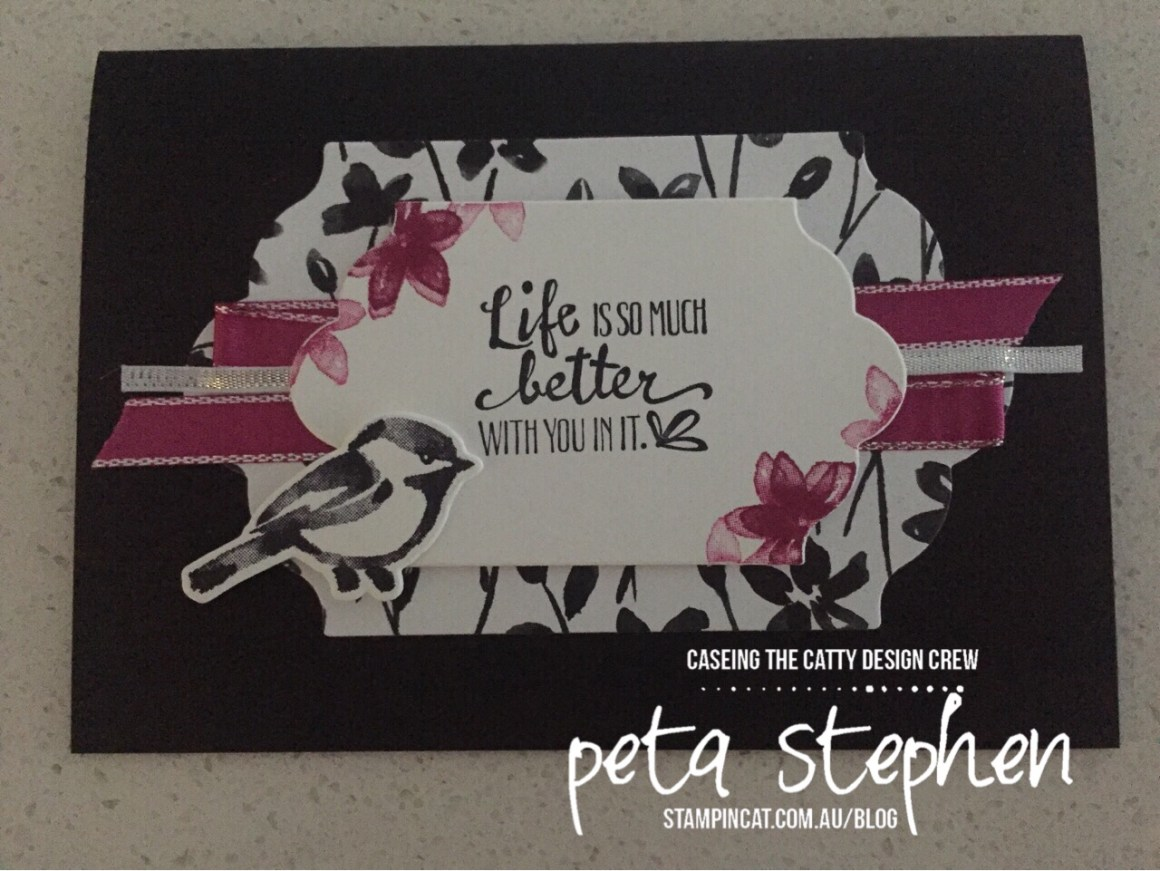 Stampin Cat CTC163 Petal Passion Suite