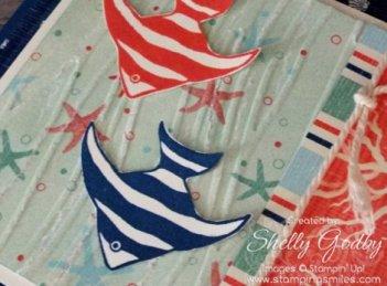 Stampin' Up! Seaside Embossing Folder