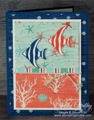 Stampin' Up! Seaside Shore Card
