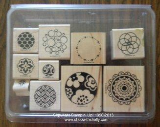 Retired Stampin' Up! Circle Circus Stamp Set