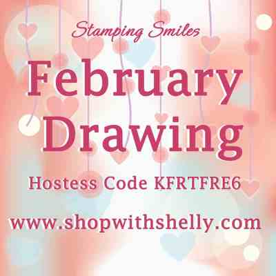 Stamping Smiles February 2019 Drawing for all six of the hostess stamp sets from the 2018-2019 Stampin' Up! Catalog