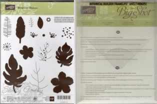 Botanical Blooms Bundle $45 Botanical Blooms Photopolymer Stamp Set and Botanical Builder Framelits Dies