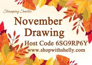 Stamping Smiles November Drawing