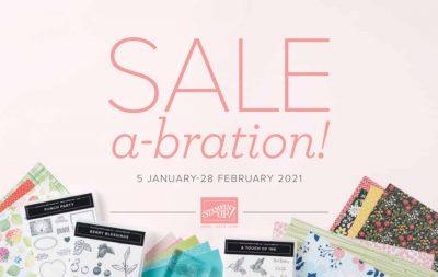 Stampin' Up! 2021 Sale-a-bration Catalog