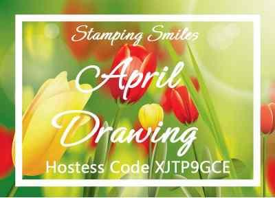 Stamping Smiles April Drawing