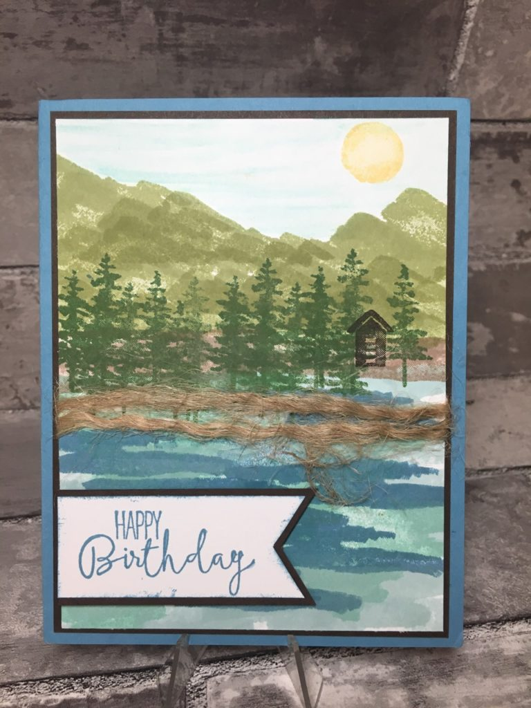 Stampin Up Birthday Cards In The Mail Stamping With Blythe