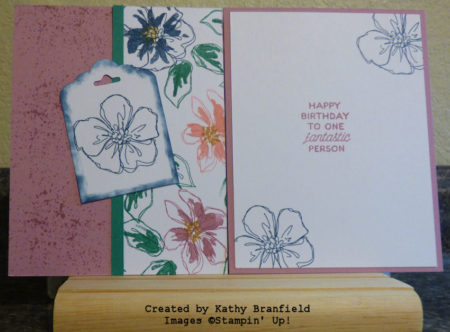 OSW Touches of Texture, Penned & Painted, Designer Tin of Cards