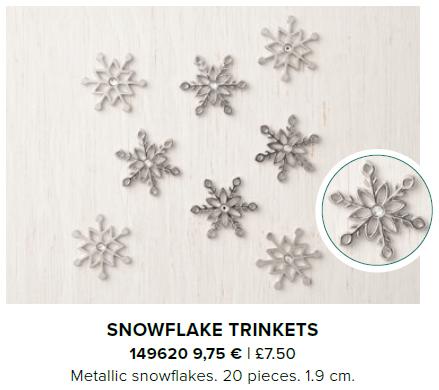 Snowflake Trinkets stampin up