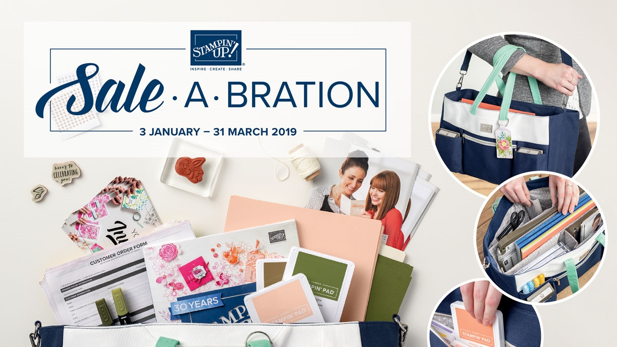 Sale-a-Bration 2019 aanbieding stampin up