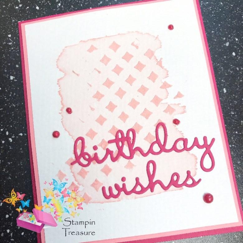 Birthday Wishes kaart