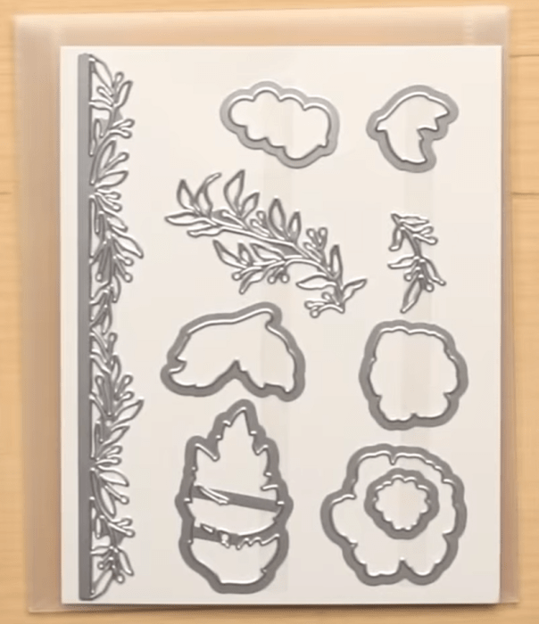 Everything is Rosy dies stampin up