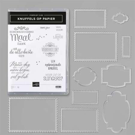 knuffels op papier, so sentimental, stampin up, stampin treasure, productpakket, bundle