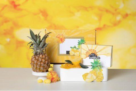 box of sunshine, zonneschijn, paper pumpkin, stampin up, stampin treasure, zolang de voorraad strekt