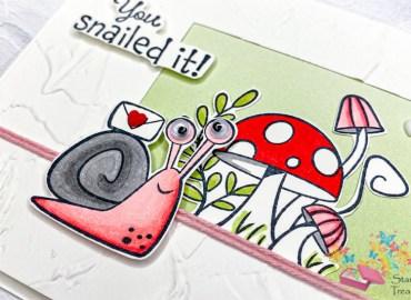 snailed it, stampin up, stampin treasure, snail dies, slakken, stansen,1554472, 154,327, 156255, all is new