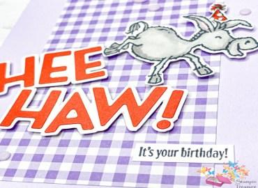 sale a bration blog hop, stampin up, stampin treasure, darling donkey, gratis