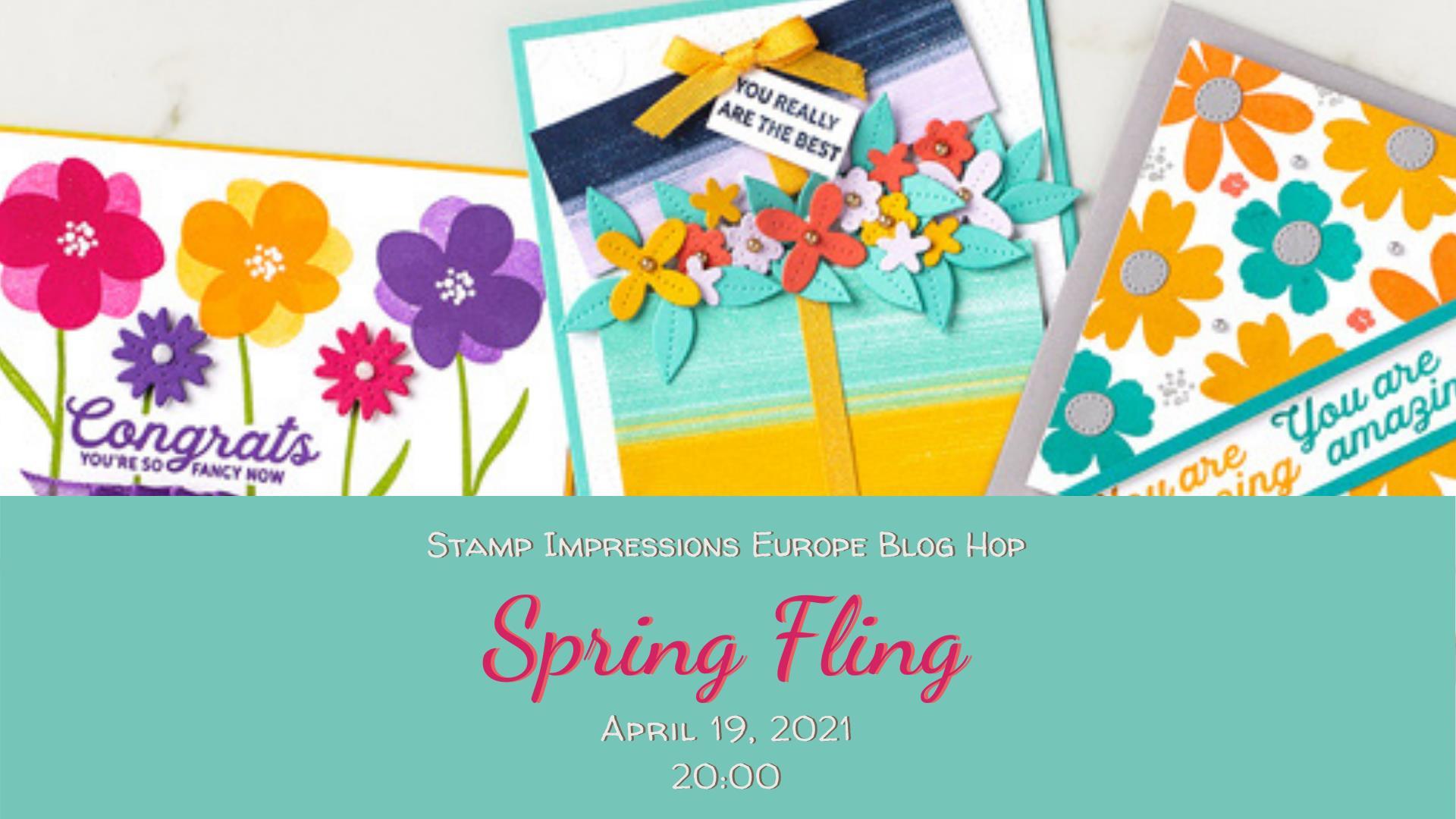 spring fling, blog hop, stampin treasure, stampin up