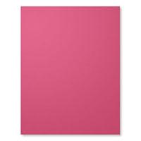 Rose Red 8-1/2 X 11 Cardstock