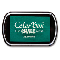 Aquamarine ColorBox Chalk Ink Pad by Stampin' Up!