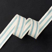 Lost Lagoon 5/8 Striped Cotton Ribbon by Stampin' Up!
