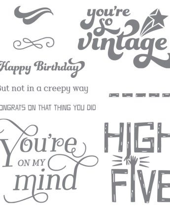 That Thing You Did stamp set, Stampin' Up!