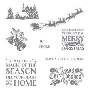 Cozy Christmas stamp set, Stampin' Up!